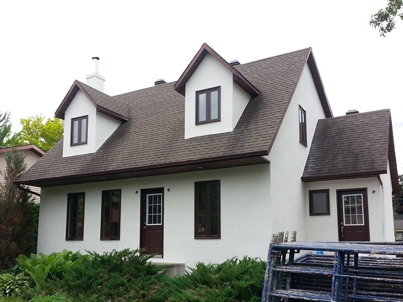 Revêtement Extérieur En Acrylique Résidentiel Ou Commercial